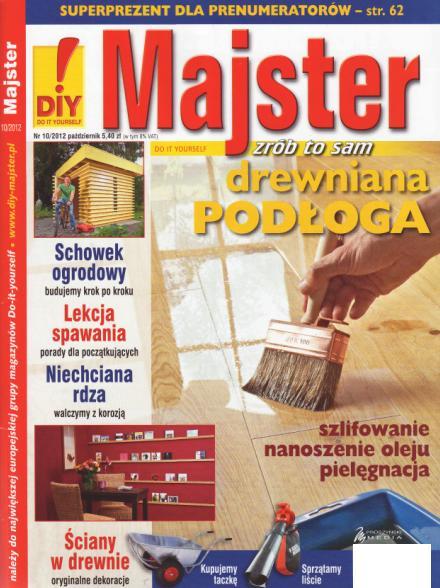 Gazetka Majster listopad 2012