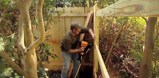 budowa plotu drewnianego-narzedzia