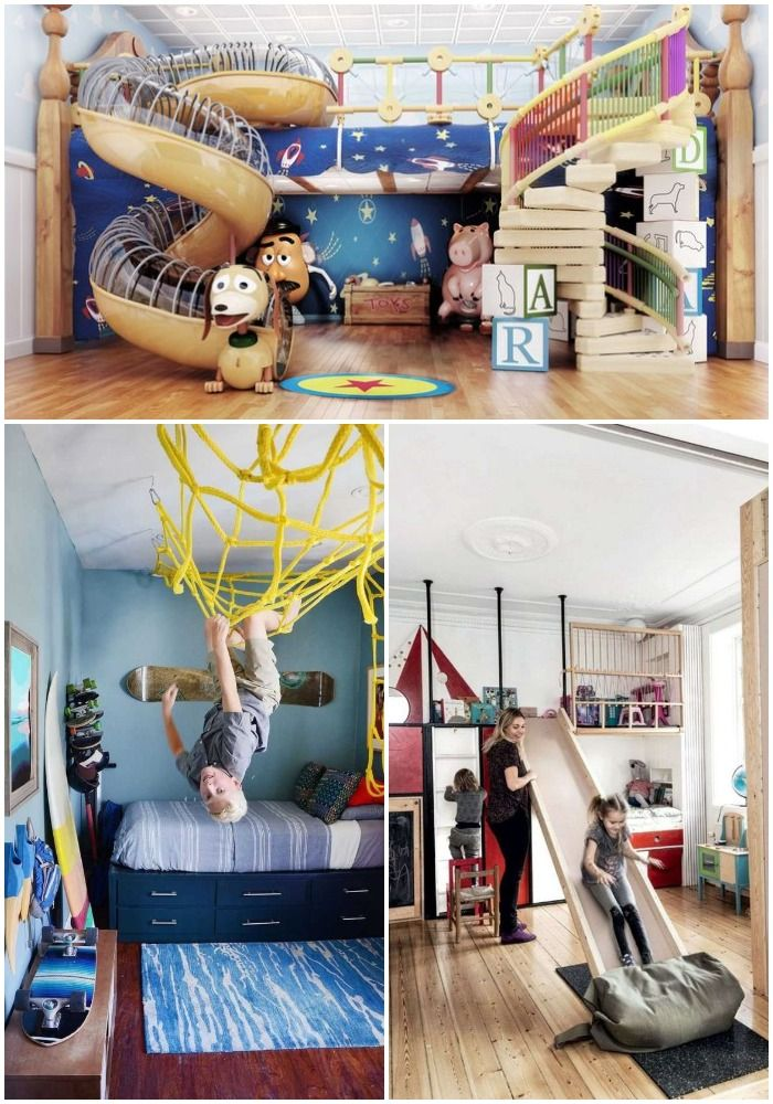 Jak zrobić Plac zabaw w pokoju dziecięcym