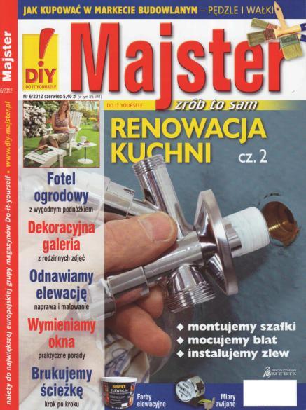 Gazetka Majster czerwiec 2012