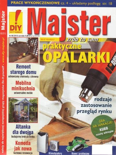 Gazetka Majster czerwiec 2013